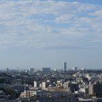 Ganz hinten sieht man Tokyo